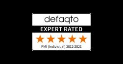 Vitality's health insurance is 5 Star Defaqto rated