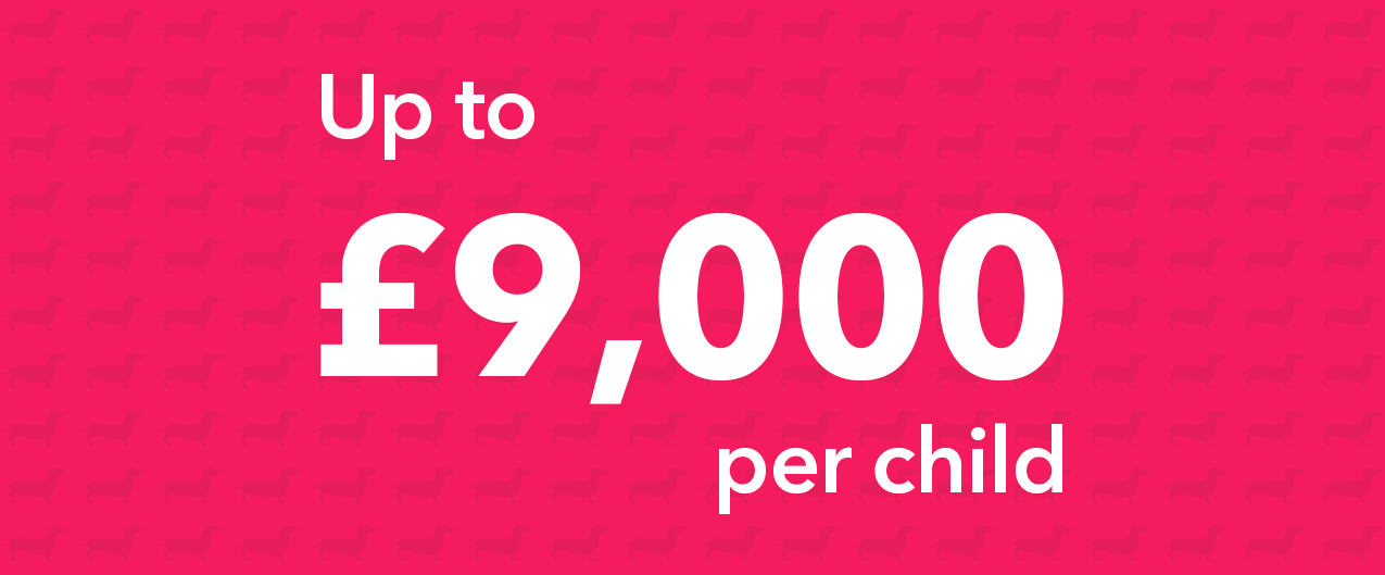 You can invest up to £9,000 into a Junior ISA each tax year