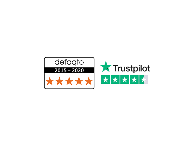 Trustpilot and Defaqto rated whole of life cover