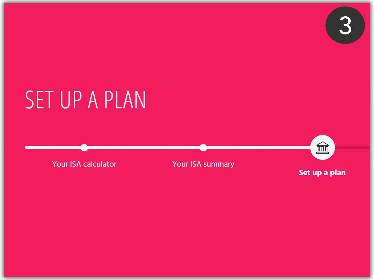 Set up a plan