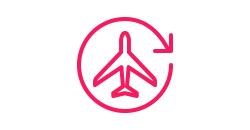Icon of a plane