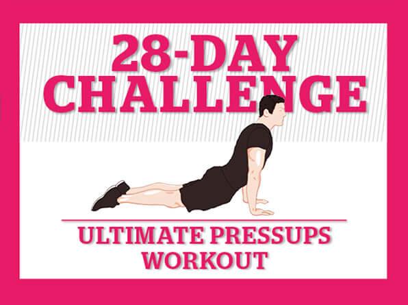 28 day challenge pressup