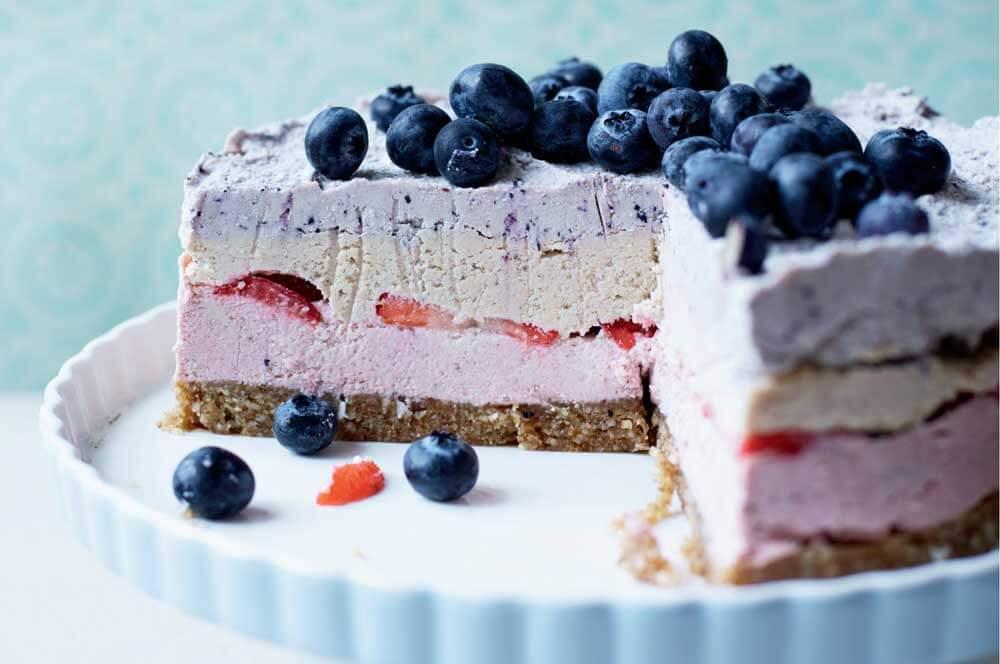 berry cheesecak