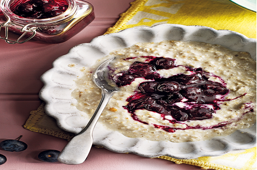 Porridge in a bowl
