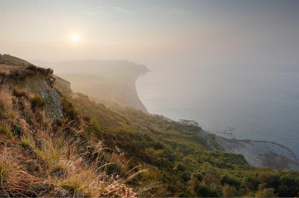 Scenic cliff walk