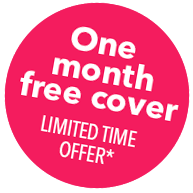 One month free health insurance
