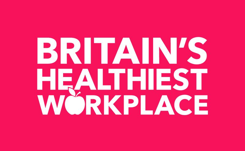 Britian's Healthiest Workplace Logo