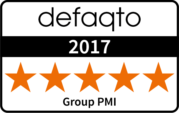 Five Star Defaqto Rating for Group PMI
