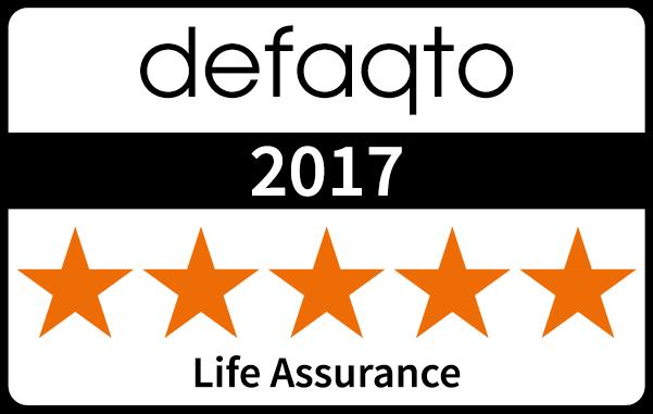 Five star Defaqto rating Life Assurance