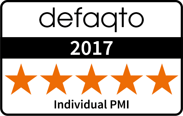 Five Star Defaqto Rating for Individual PMI