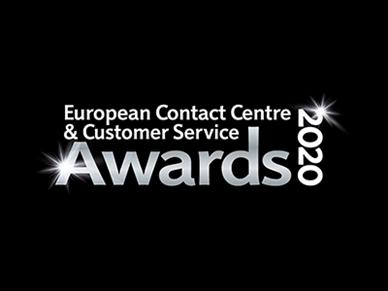 European Contact Centre and Customer Service Awards 2020 logo