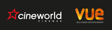 Cineworld and Vue logo
