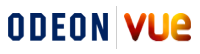 ODEON and Vue logo