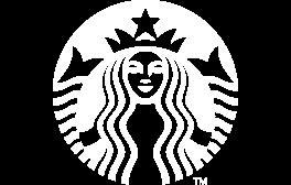 Starbucks white logo