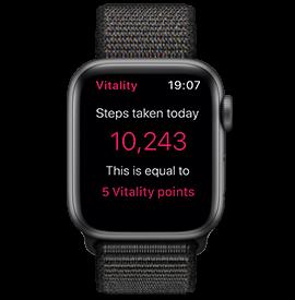 Apple Watch Series 4 GPS Space Grey with Black Sport Loop