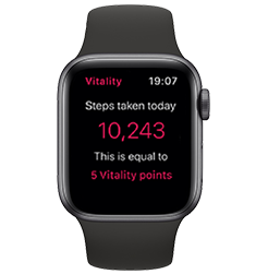 Apple Watch Series 4 GPS Space Grey with Black Sport Band