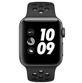 Apple Watch Nike+ Series 3 GPS Space Grey with Anthracite/ Black Nike Sport Band