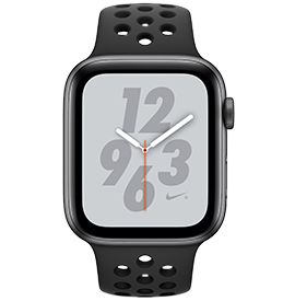 Apple Watch Nike+ Series 4 GPS Space Grey with Anthracite/Black