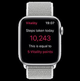 Apple Watch Series 4 GPS Silver with Seashell Sport Loop