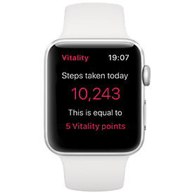 Apple Watch Series 3 GPS Silver with White Sport Band