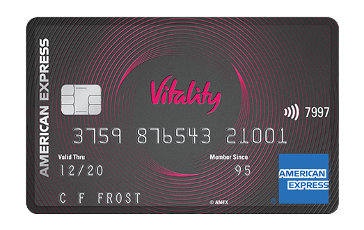 Vitality American Express® Credit Card