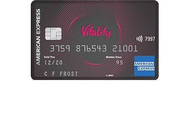 Vitality American Express® Credit Card