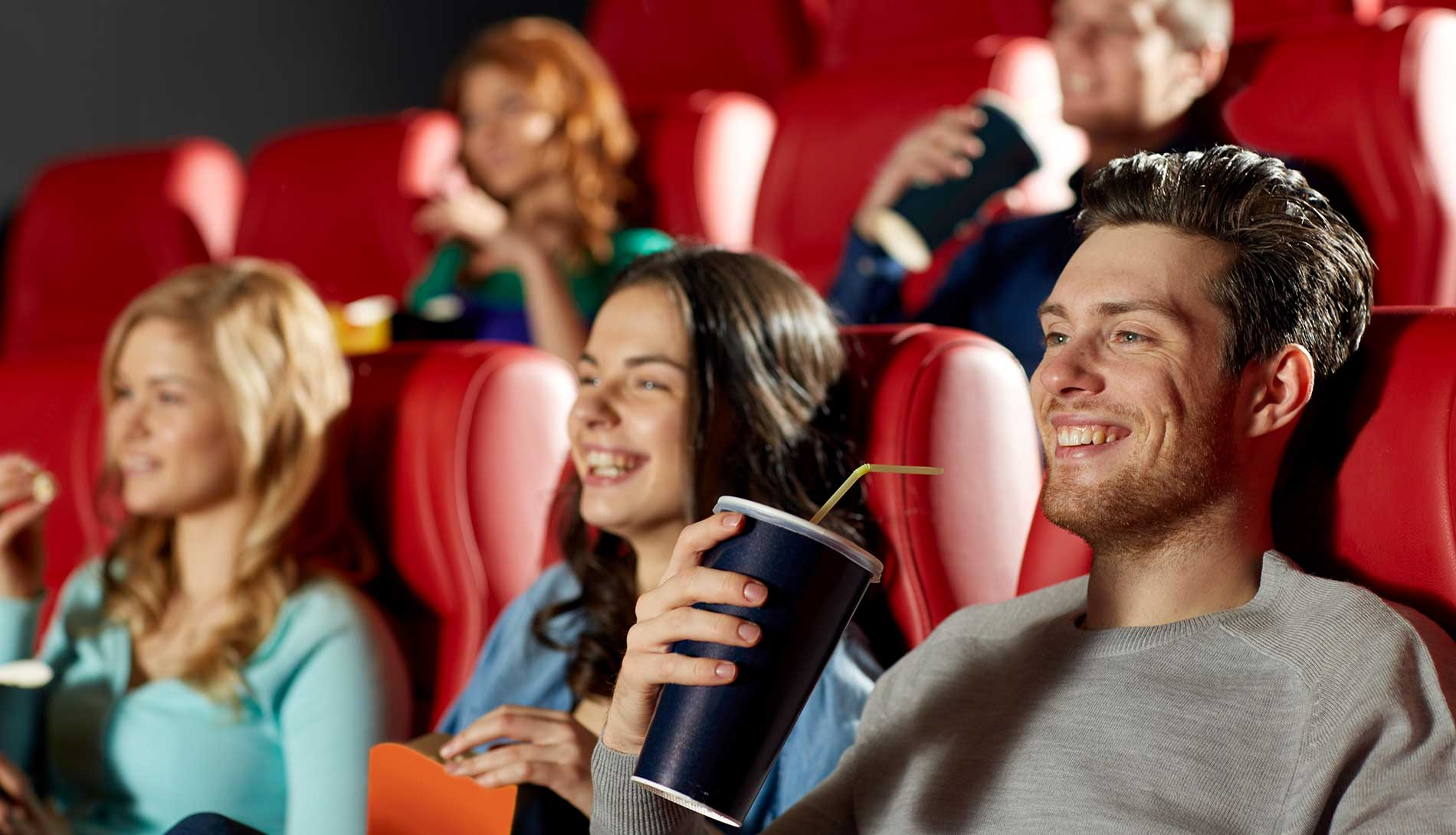 Audience in a cinema