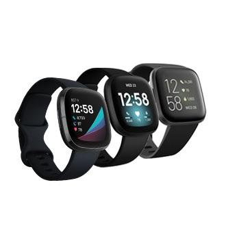 Fitbit Versa 2, Versa 3 and Sense
