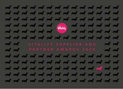 Supplier and Partner Awards 2020 logo