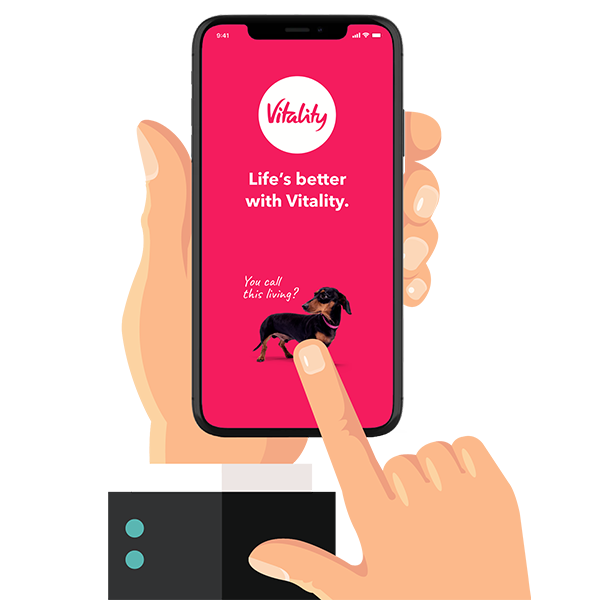 The new Vitality app