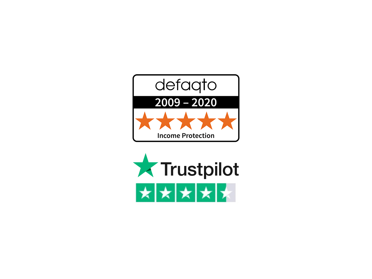 Vitality's income protection cover is rated 5-star Defaqto
