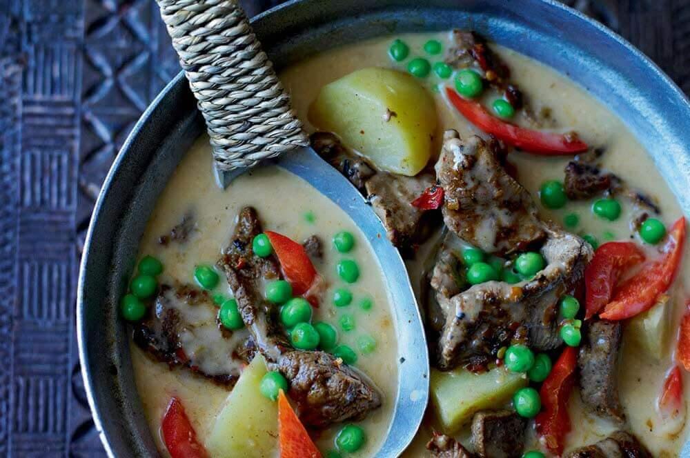 thai beef massman