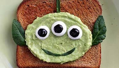 Alien Avocado Toast